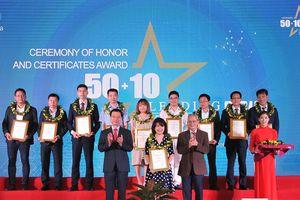 Vinh danh doanh nghiệp CNTT hàng đầu Việt Nam năm 2018