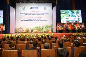 Khai mạc trọng thể Đại hội Các cơ quan kiểm toán tối cao Châu Á ASOSAI 14