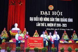 Đại hội đại biểu Hội Nông dân tỉnh Quảng Bình lần thứ X