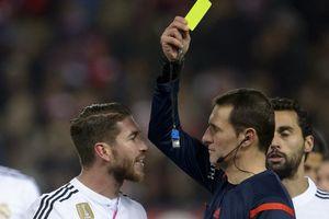 Sergio Ramos thành ông vua thẻ vàng ở Champions League