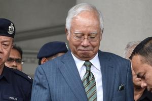 Malaysia: Cựu Thủ tướng Razak đối mặt 21 tội danh liên quan rửa tiền