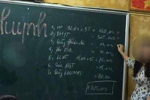 Phụ huynh trường Trần Phú cắn răng vì phải nộp quỹ ...tiền tỷ