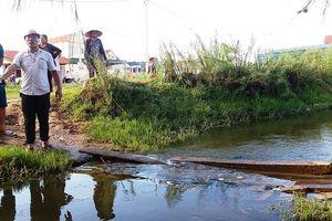 Thanh Hóa: Bé trai tử vong ở mương nước, người nhà đưa lên phường 'bắt đền'