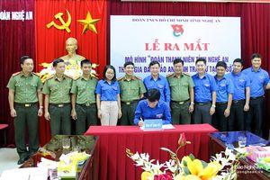 Ra mắt mô hình 'Đoàn Thanh niên tỉnh Nghệ An tham gia đảm bảo an ninh trật tự tại cơ sở'