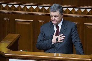Bốn đại biểu Quốc hội Ukraina rời phòng họp khi Tổng thống Poroshenko phát biểu
