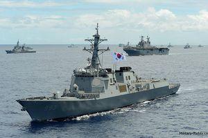 Sức mạnh đáng gờm của tàu khu trục Sejong Đại đế