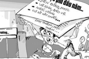 Bộ Giáo dục ban hành thông tư nhằm 'chặn' tình trạng lạm thu trong nhà trường