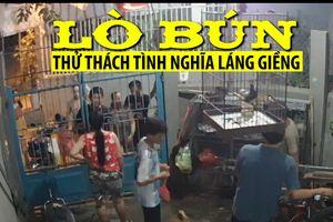 Những lò bún thử thách tình nghĩa láng giềng ở Đà Nẵng