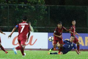 U16 châu Á: Thái Lai bị vùi dập, Malaysia trút mưa gôn đối thủ