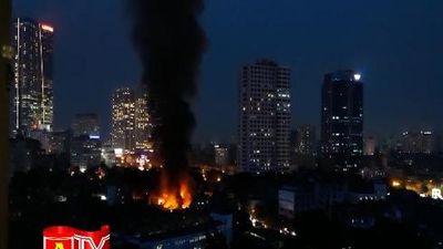 Nguyên nhân vụ cháy tại Đê La Thành có thể do chập điện