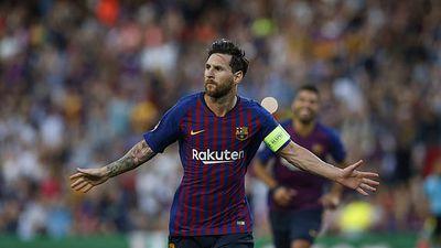 Messi ta sáng, Barcelona thng hy dit trn ra quân Champions League