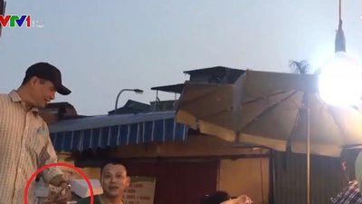 Phức tạp hoạt động bảo kê tại chợ Long Biên