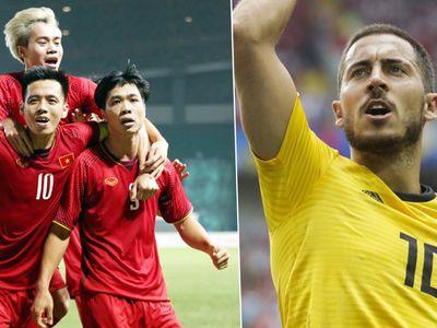 Theo bảng xếp hạng FIFA tháng 9.2018, Việt Nam tiếp tục duy trì vị trí số 1 Đông Nam Á. Trong khi đó, Bỉ đã soán ngôi số 1 thế giới của đội tuyển Pháp.