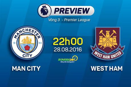 Man City vs West Ham (22h00 ngay 28/8): Mou goi Pep co tra loi? - Anh 3