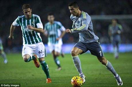 01h45 ngay 16/10, Real Betis vs Real Madrid: Kho khan chong chat - Anh 1