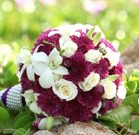 10 mau hoa cuoi cam tay dep nhat cho co dau trong ngay cuoi - Anh 2