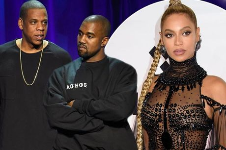 Beyonce cau xin Jay Z lam lanh lai voi Kanye West - Anh 1