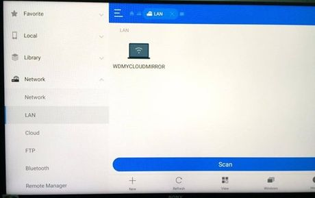 Ket noi Android TV voi NAS My Cloud Mirror - Anh 3