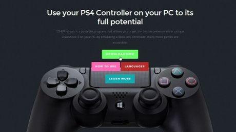 Huong dan su dung tay cam PS4 DualShock 4 cho PC - Anh 3