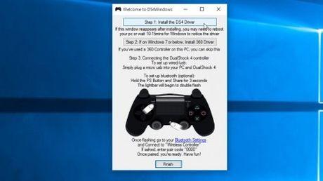Huong dan su dung tay cam PS4 DualShock 4 cho PC - Anh 5