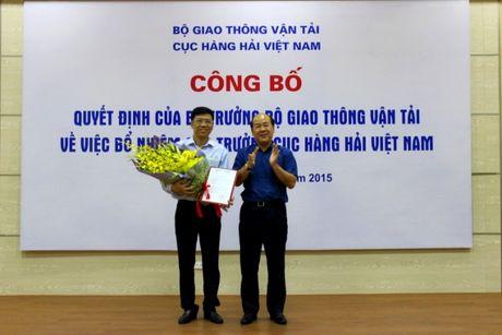 Truot chuyen vien chinh van duoc bo nhiem Cuc truong Hang hai? - Anh 1
