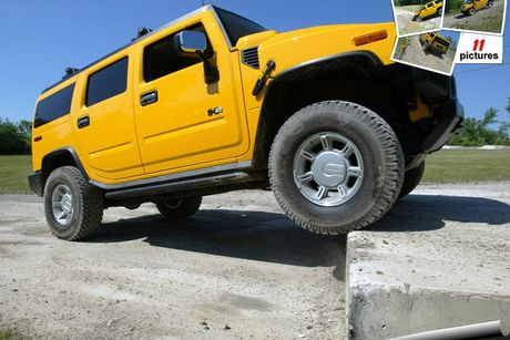 Xe SUV Hummer H2: Chien binh off-road hoan hao - Anh 10