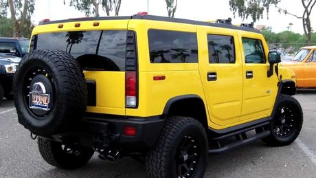 Xe SUV Hummer H2: Chien binh off-road hoan hao - Anh 5