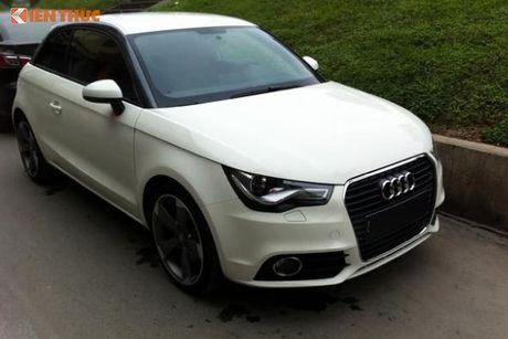Xe sang Audi A1 dung 7 nam ban 550 trieu tai VN - Anh 2