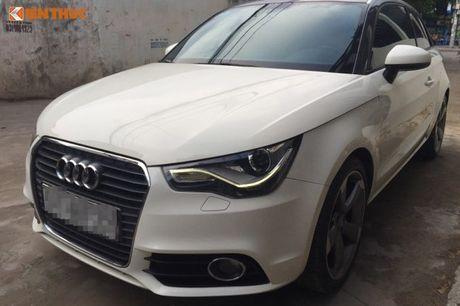 Xe sang Audi A1 dung 7 nam ban 550 trieu tai VN - Anh 3