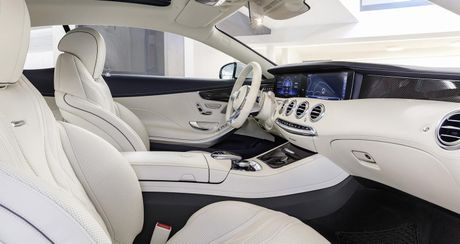 Mercedes-Benz S-Class Coupe 2018 chinh thuc lo dien - Anh 11
