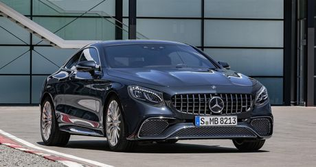 Mercedes-Benz S-Class Coupe 2018 chinh thuc lo dien - Anh 13
