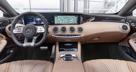 Mercedes-Benz S-Class Coupe 2018 chinh thuc lo dien - Anh 16