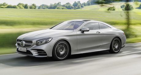 Mercedes-Benz S-Class Coupe 2018 chinh thuc lo dien - Anh 2