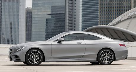Mercedes-Benz S-Class Coupe 2018 chinh thuc lo dien - Anh 3