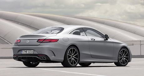 Mercedes-Benz S-Class Coupe 2018 chinh thuc lo dien - Anh 4