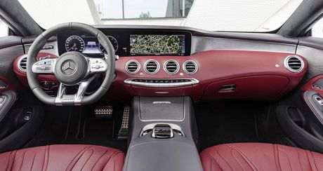 Mercedes-Benz S-Class Coupe 2018 chinh thuc lo dien - Anh 5