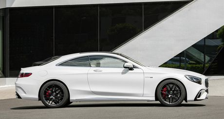 Mercedes-Benz S-Class Coupe 2018 chinh thuc lo dien - Anh 7