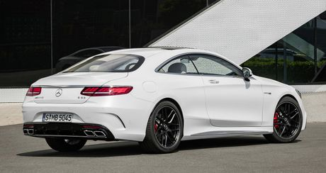 Mercedes-Benz S-Class Coupe 2018 chinh thuc lo dien - Anh 8