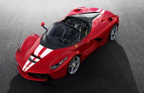 Sieu xe 'tu thien' Ferrari LaFerrari Aperta chot gia hon 224 ti dong - Anh 2