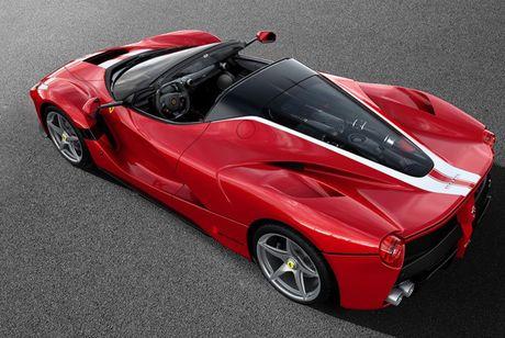 Sieu xe 'tu thien' Ferrari LaFerrari Aperta chot gia hon 224 ti dong - Anh 3