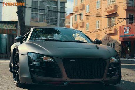 Sieu xe Audi R8 do bodykit hon 600 trieu tai Sai Gon - Anh 2