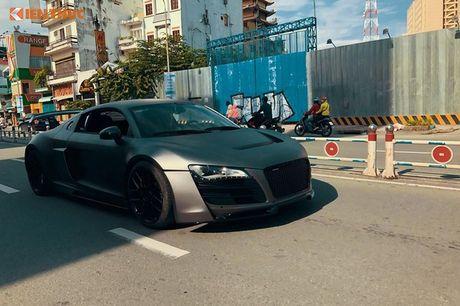 Sieu xe Audi R8 do bodykit hon 600 trieu tai Sai Gon - Anh 5