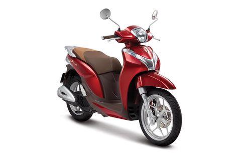 Honda Viet Nam ra mat 2 ban SH Mode 125cc mau sac moi - Anh 4