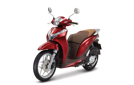 Honda Viet Nam ra mat 2 ban SH Mode 125cc mau sac moi - Anh 5
