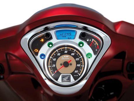 Honda Viet Nam ra mat 2 ban SH Mode 125cc mau sac moi - Anh 6