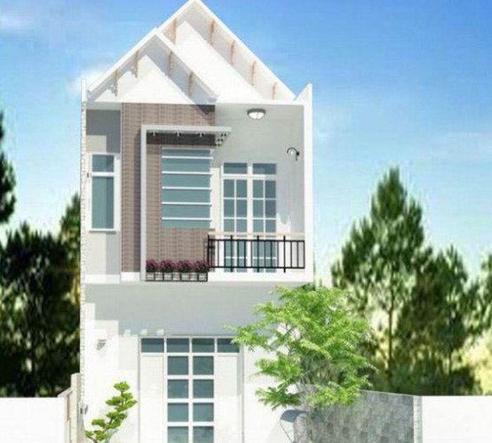 mẫu nhà 2 tầng diện tích 6x13m