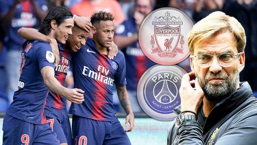 Liverpool vs PSG: Bài tập nâng cao